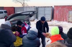 Мусульмане Приморья организовали пункты горячего питания для населения, пострадавшего в результате ЧС.