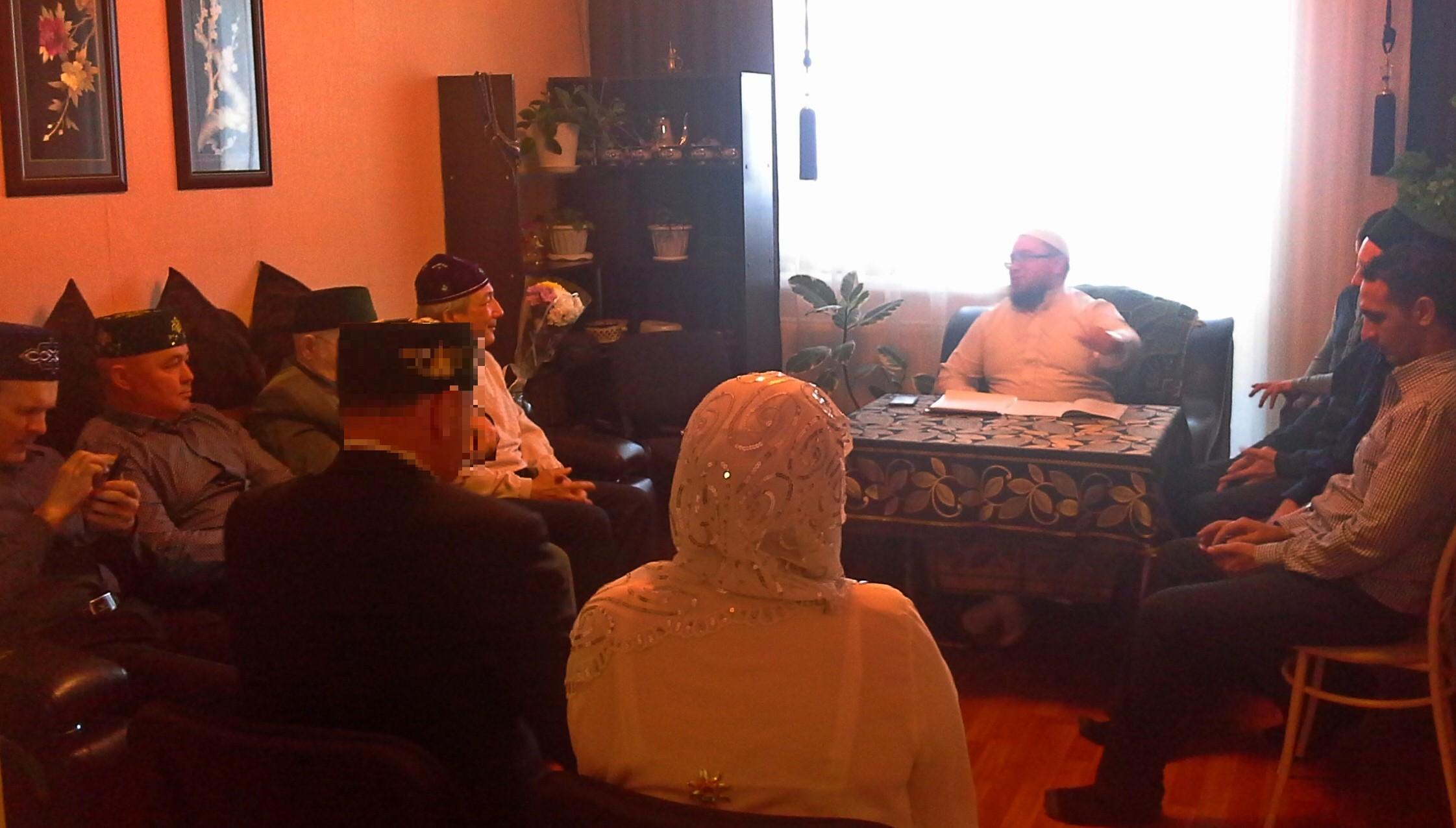 Татарская община Хабаровска провела традиционный мусульманский обряд «Никах»