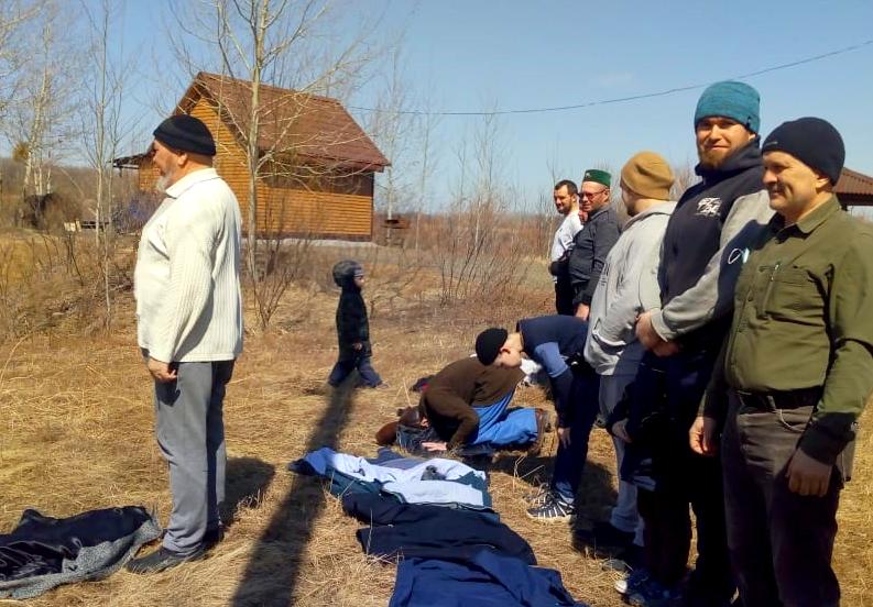 Татары Хабаровска отметили приближение месяца Рамадан на стрельбище.