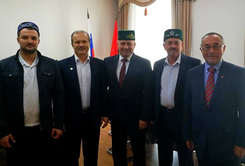 Мусульмане встретились с новым мэром Хабаровска.